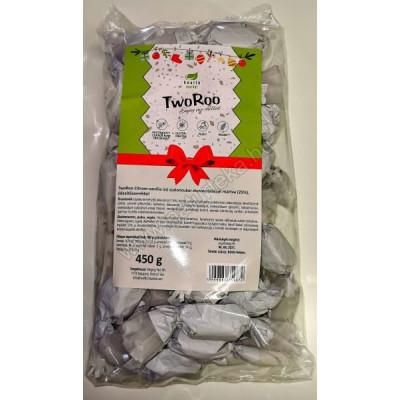 Health Market TwoRoo citrom-vanília ízű gluténmentes SZALONCUKOR étcsokoládéba mártva 450g | Rubik kocka