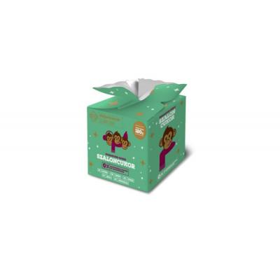 MAJOMKENYÉR NARANCSOS-CSOKIS SZALONCUKOR 120 G | Rubik kocka