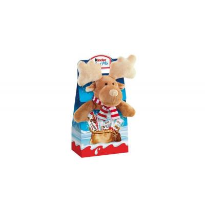 Kinder Maxi Mix Ajándékcsomag (Rénszarvas) Plüssfigurával 133g   Rubik kocka