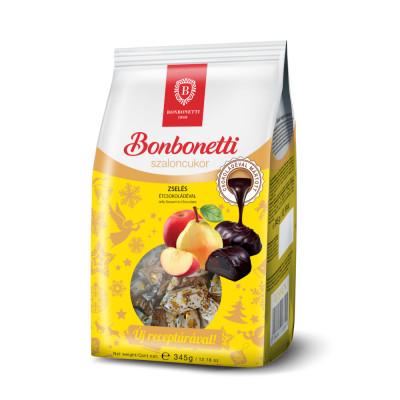 Bonbonetti étcsokoládéval mártott almás és körtés zselés szaloncukor 345 g