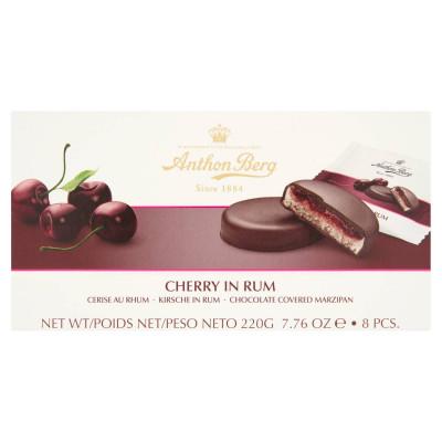 Anthon Berg csokoládé marcipánnal és rumban lévő cseresznyével töltve 8 db