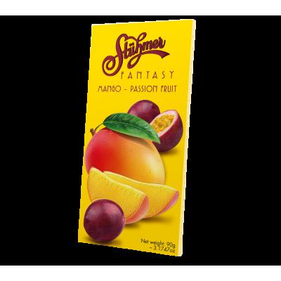 Mangós-passió gyümölcsös Fantasy tábla 90g | Rubik kocka