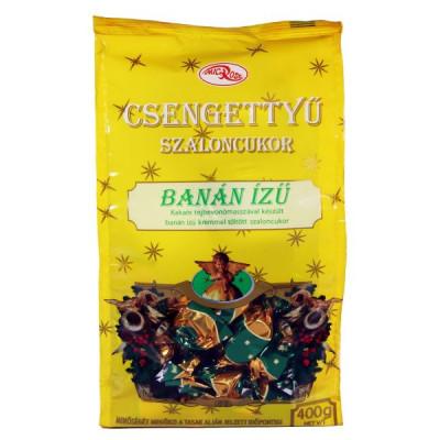 Csengettyű banánízű krémes szaloncukor 400 g   Rubik kocka