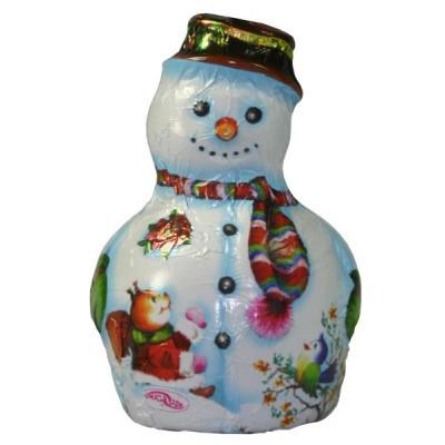 Hóember fehér csokoládéból 55 g   Rubik kocka