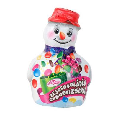 Tejcsokoládé hóember csokidrazséval 65 g   Rubik kocka