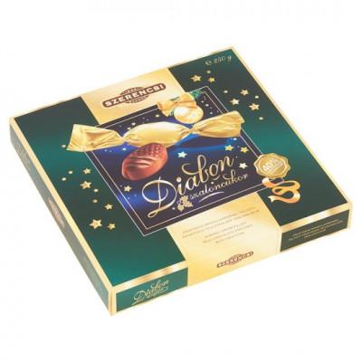 Szerencsi Diabon fruktózos mandulakrémmel töltött fruktózos tejcsokoládé szaloncukor 250 g | Rubik kocka