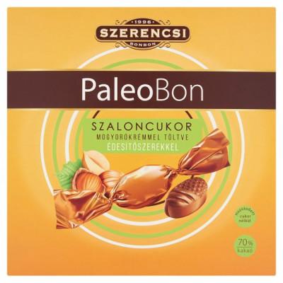 Szerencsi PaleoBon étcsokoládés kesudió drazsé eritrittel és steviával 100 g | Rubik kocka